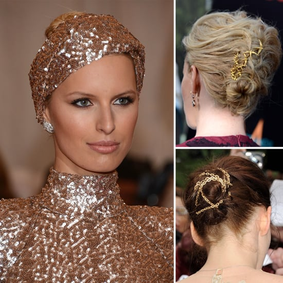 5 Brilliant Ways to Get in on the Gold Hair Accessory Trend