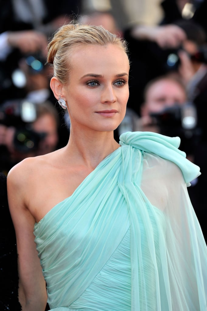 Diane Kruger looked stunning in a pale blue gown at the opening of the Cannes Film Festival and the premiere of Moonrise Kingdom.