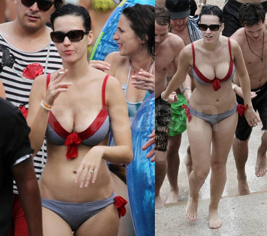 Katy Perry Bikini Pictures in the Bahamas