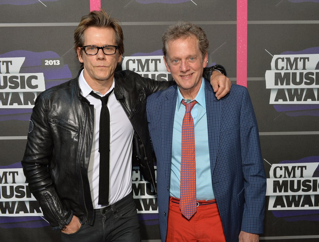 Kevin Bacon and his brother, Michael, posed together at the CMT Awards.