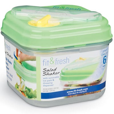 Cool Healthy Gadget: Fit & Fresh Salad Shaker
