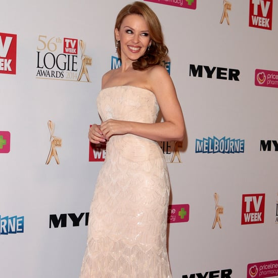 Kylie Minogue Red Carpet Pictures at the 2014 Logies