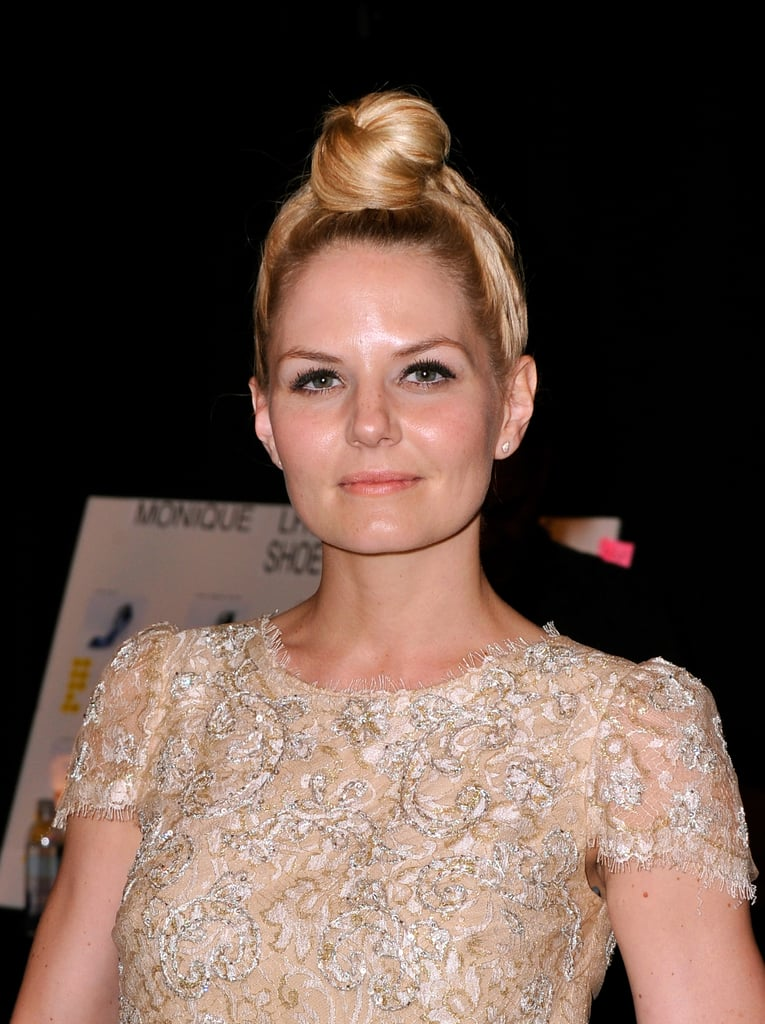 Jennifer Morrison at Monique Lhuillier