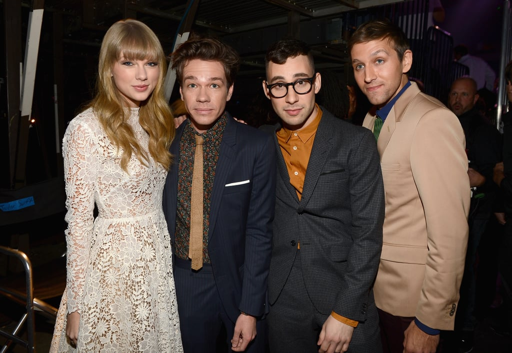 He supports his friends in the industry, especially Taylor Swift.