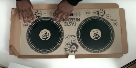 Pizza Hut's Musical Pizza Box Turns Dinner Into A Full-On Rave