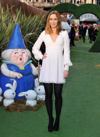 Pictures of Emily Blunt, Elizabeth Hurley, and Elton John at Gnomeo and Juliet Premiere in London