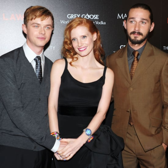 Lawless NYC Premiere Celebrity Pictures of Shia LaBeouf and Jessica Chastain