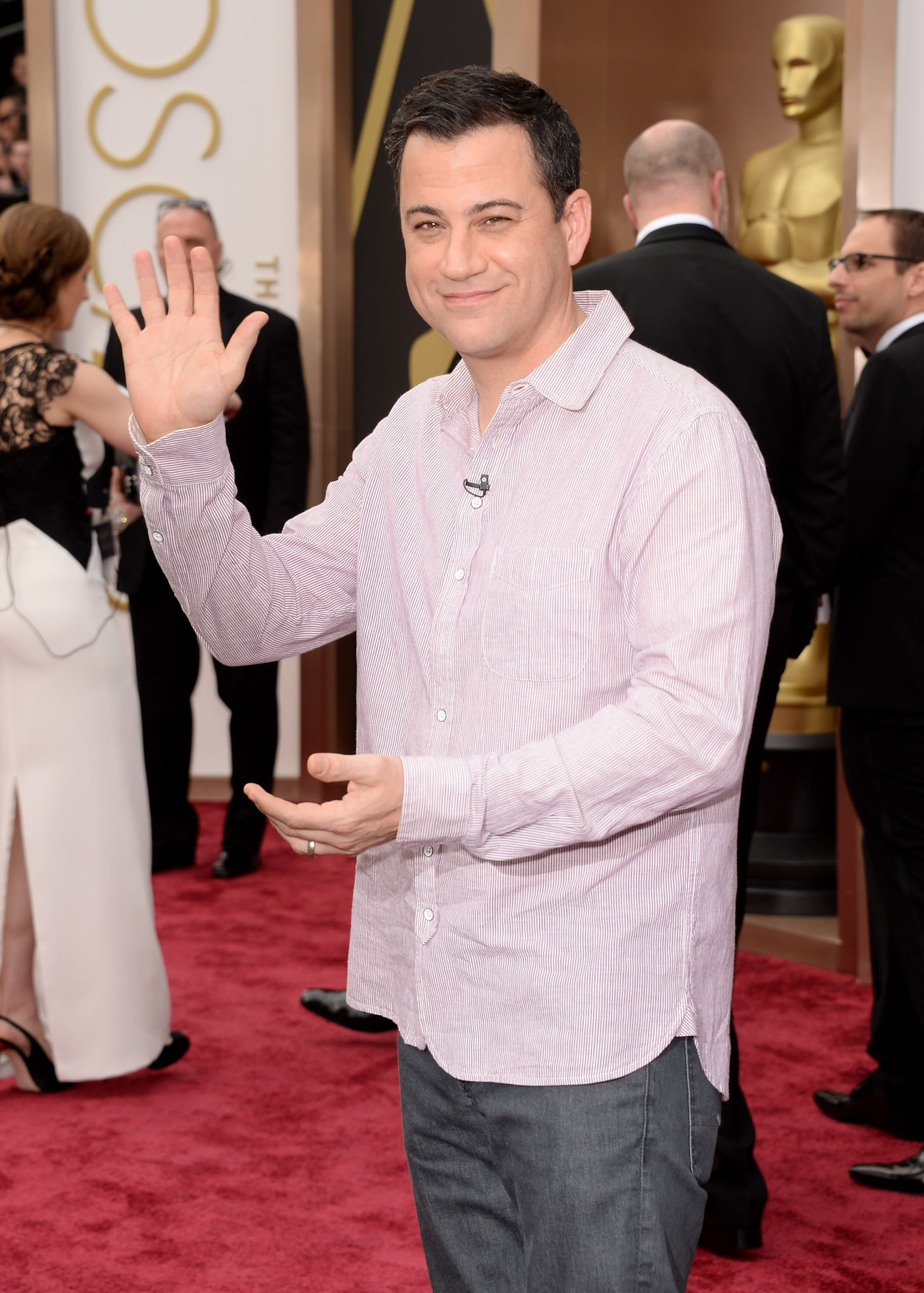 You Won't Believe What Jimmy Kimmel Wore to the Oscars
