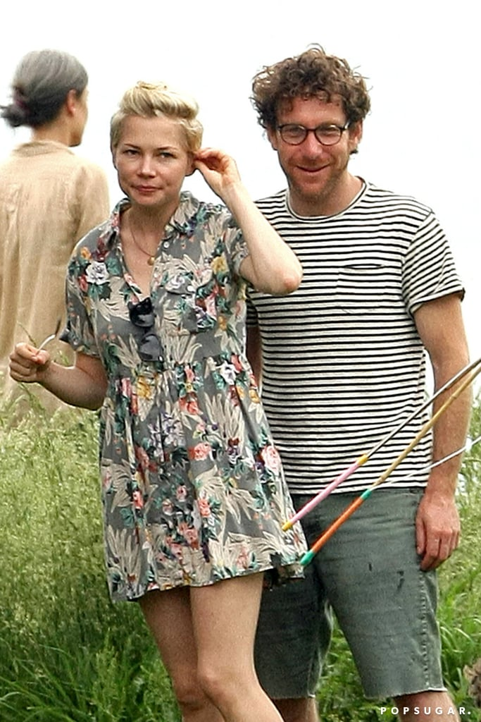 Michelle Williams and Dustin Yellin