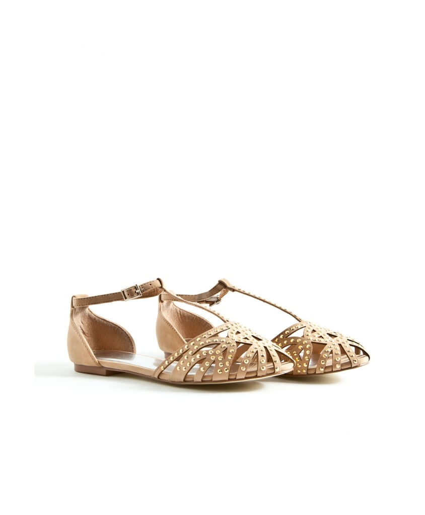 Add a more formal style to your sandal collection with this T-strap style from Missguided ($38).