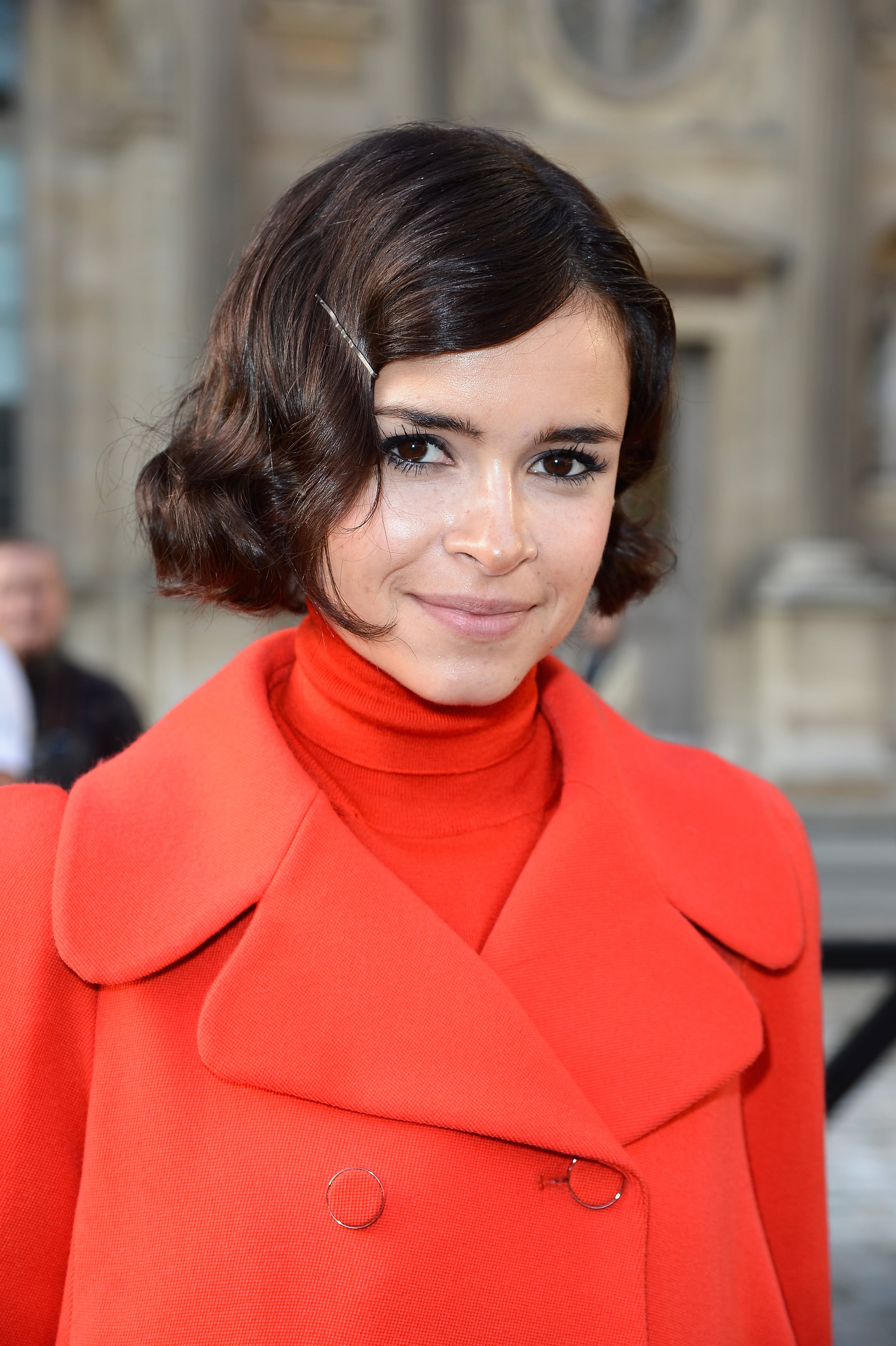 Miroslava Duma at Louis Vuitton Spring 2014