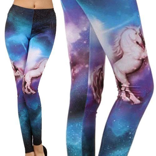 Because where else do unicorns on leggings ($15, originally $18) belong but in a galaxy far, far away?