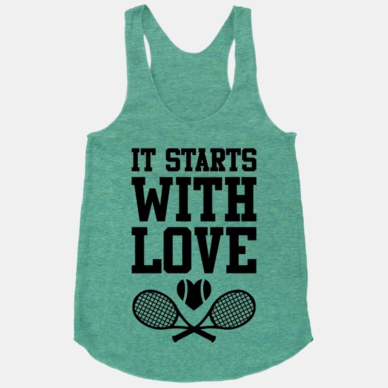 It Starts With Love Tank