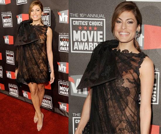 Eva Mendes at 2011 Critics' Choice Awards