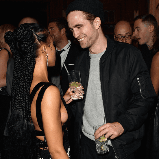 Robert Pattinson and FKA Twigs at Brit Awards Afterparty