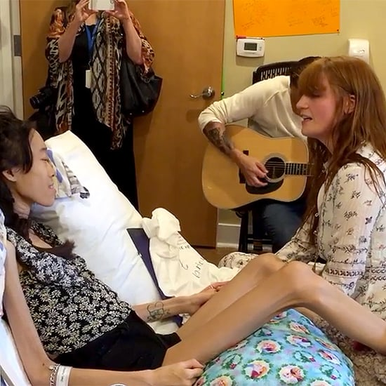 Florence Welch Gives Private Hospice Concert for Girl, 15, Who Was Too Sick to Attend Her Show