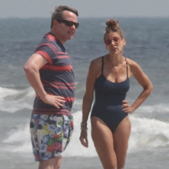 Sarah Jessica Parker in a Swimsuit in Montauk | Pictures