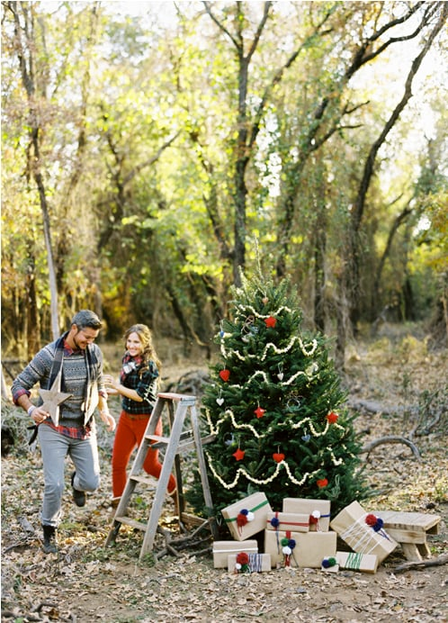 Decorate a Christmas Tree Together