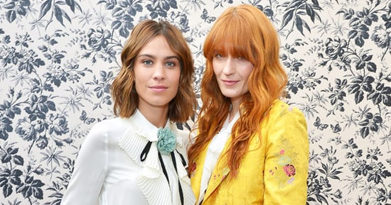 Florence Welch Chats with Alexa Chung After Gucci Brand Ambassador Announcement