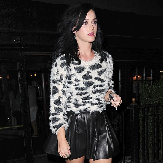 Katy Perry in Leopard-Print Sweater | Video