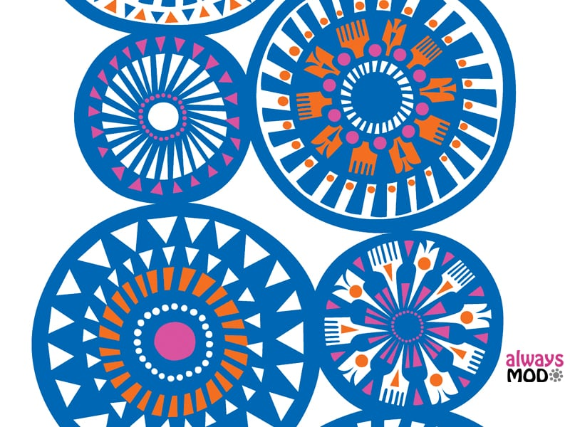 Color Wheels by Sanna Annukka