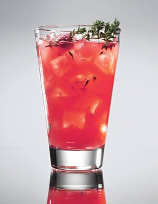 Raspberry-Thyme Smash Recipe