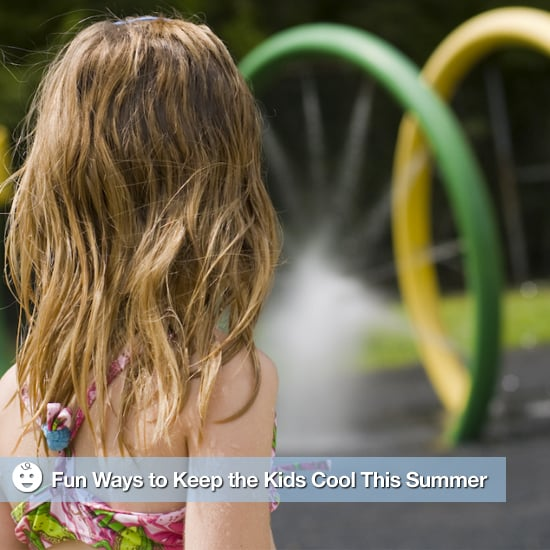 Sprinklers to Keep Kids Cool in the Summer