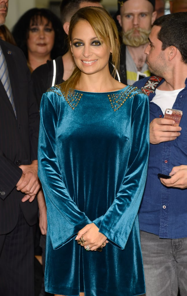Nicole Richie launched her line for Macy's.