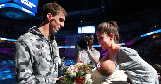Michael Phelps' 8-Week Old Son Is Already Learning How to Swim