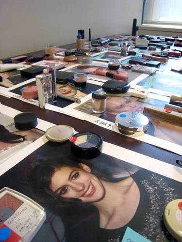Behind the Scenes of InStyle's Celebrity Makeup Match