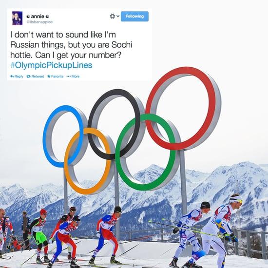 #OlympicPickupLines