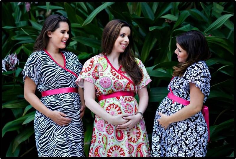 P.U.S.H. Maternity Gowns ($70)