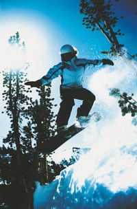 Wear a Helmet When You Snowboard or Ski