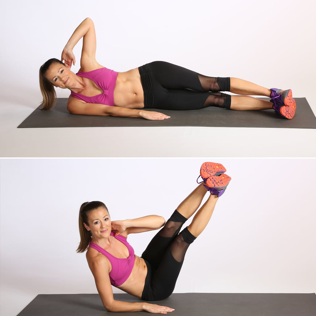 Circuit Two: Oblique V-Crunch
