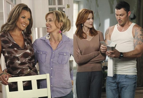 Desperate Housewives Season 7 Pictures With Brian Austin Green 2010-09-03 14:30:13