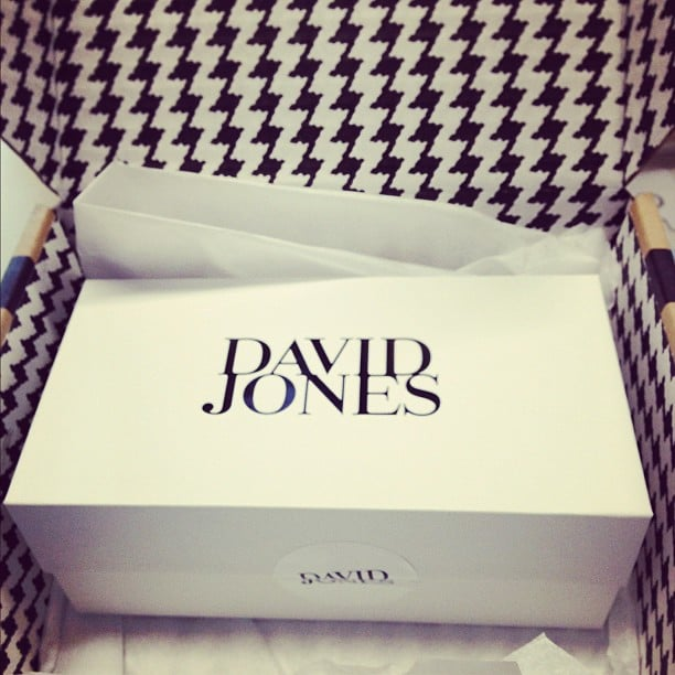 Oooh, we love a present . . . Especially when it comes from David Jones' new online store!
