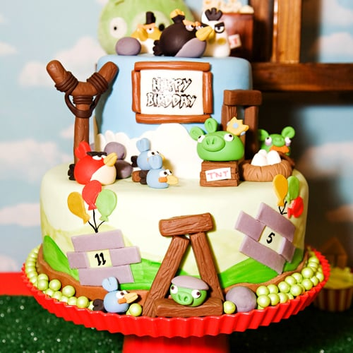Angry Birds Kid's Birthday Party
