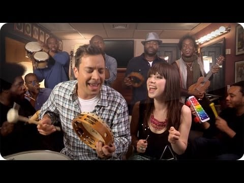 """""""Call Me Maybe"""" With Carly Rae Jepsen and The Roots"""