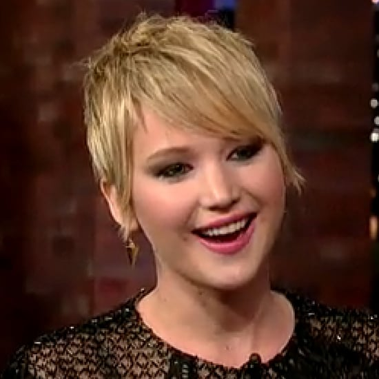 Jennifer Lawrence Talks Pooping Her Pants on Letterman