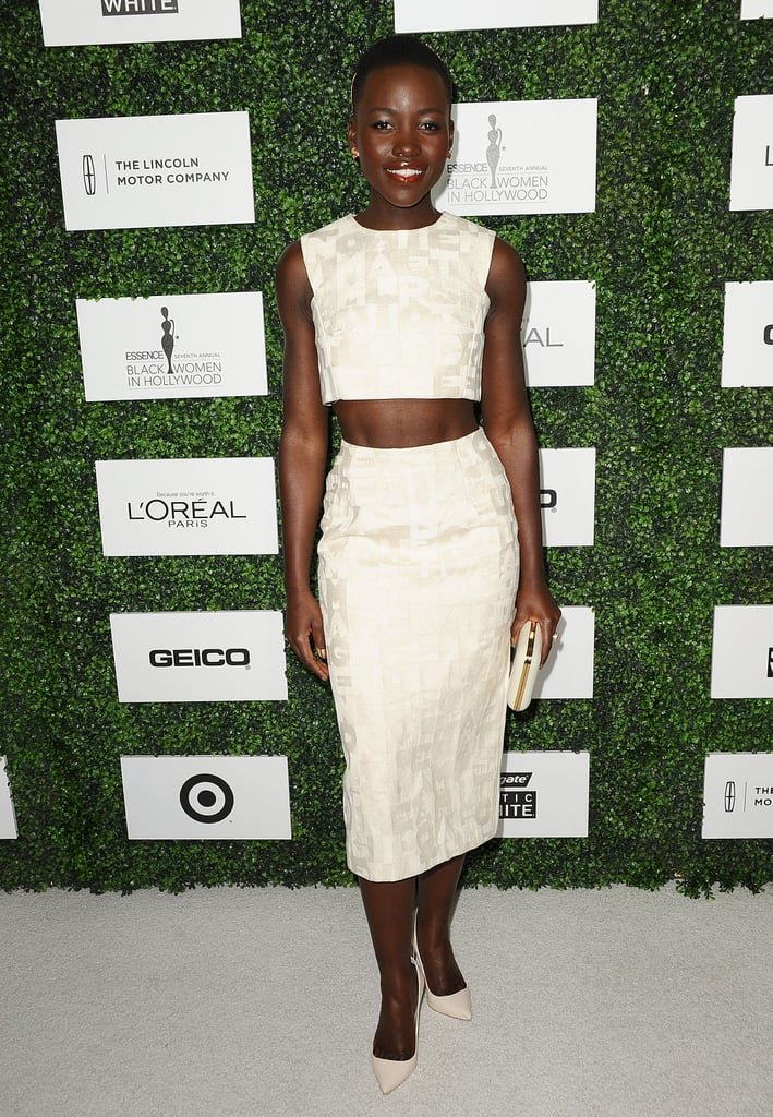 Lupita Nyong'o was the woman of honor at Essence's Black Women in Hollywood Luncheon in LA on Thursday.
