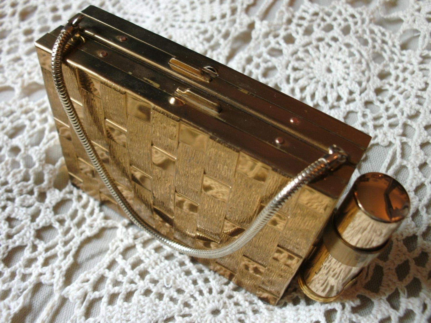 1950s Multipurpose Compact Purse