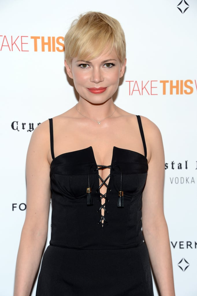 Michelle Williams premiered Take This Waltz in NYC.