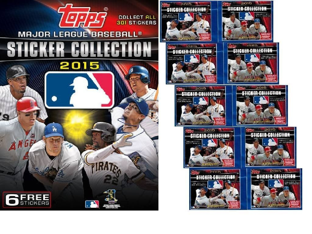 Baseball Sticker Book