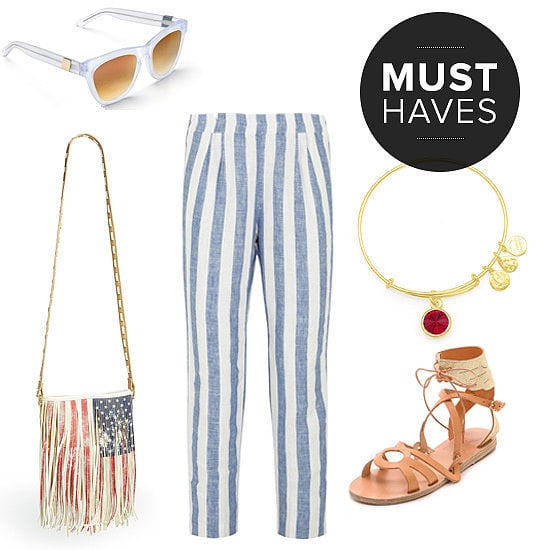 This month, POPSUGAR Fashion has gathered up the requisite stars and stripes, but they've also made sure to make their editors' July must-have fashion picks include all the sunglasses, sandals, and swimwear you can get your hands on. Shop them all right now (before they're gone!) and really bring the heat this Summer.