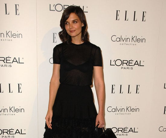 Slide Photo of Katie Holmes at Elle Event in Hollywood