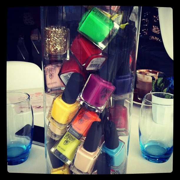 What more does a girl need than a jar full of nail polish? It was all about the in-office mani thanks to Bloom.