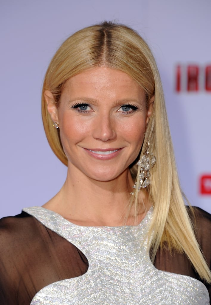 Gwyneth Paltrow posed on the red carpet.
