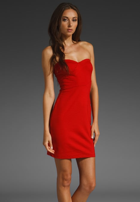 A crazy-sexy fit that'll turn heads at any holiday party.  Eight Sixty Tube Dress (approx $94)