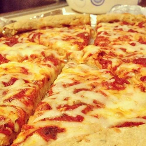 Whole Wheat, Yeast-free Pizza