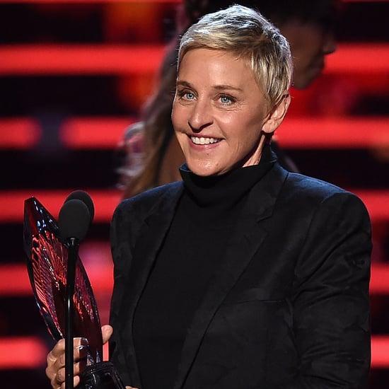 Ellen DeGeneres People's Choice Award Speech 2016